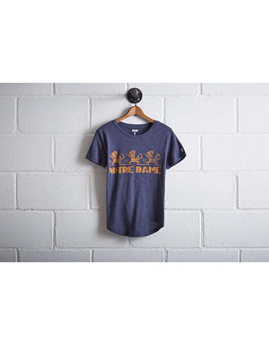Tailgate Women's Notre Dame Fighting Irish T-Shirt - Free returns