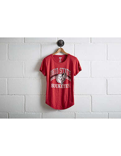 Tailgate Women's Ohio State Basketball T-Shirt - Free Returns