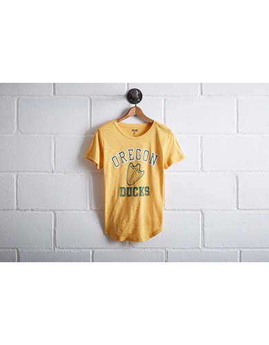 Tailgate Oregon Ducks Footprint T-Shirt -