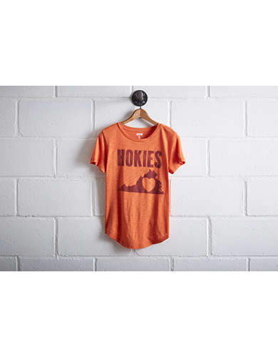 Tailgate Women's Virginia Tech Hokies State T-Shirt - Free Returns