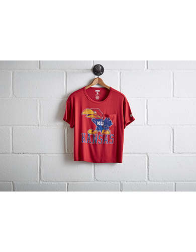 Tailgate Women's Kansas Pocket T-Shirt - Free Returns