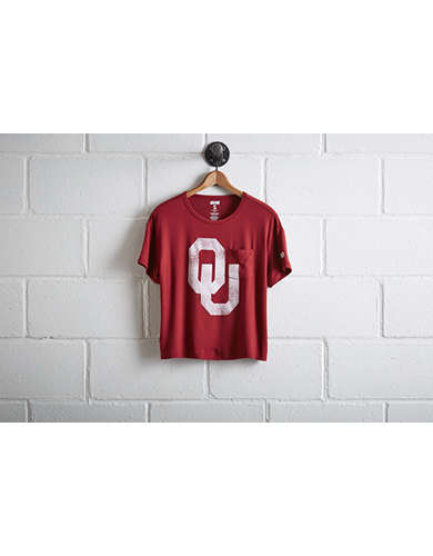 Tailgate Women's Oklahoma Pocket T-Shirt -