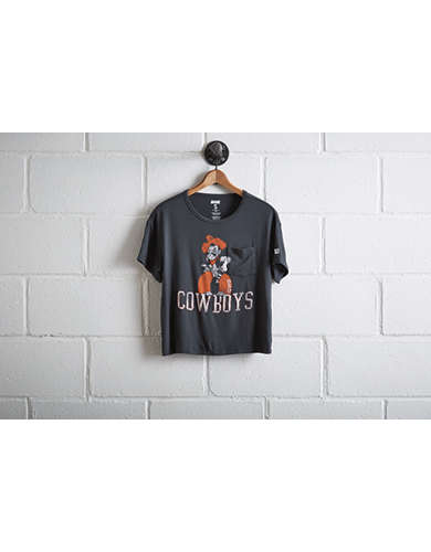 Tailgate Women's Oklahoma State Pocket T-Shirt - Free Returns
