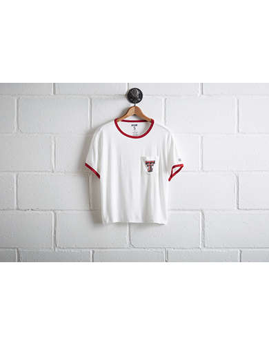 Tailgate Women's Texas Tech Pocket T-Shirt - Free Returns