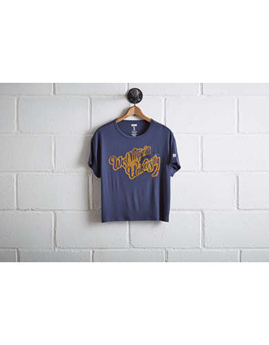 Tailgate Women's WVU Pocket T-Shirt - Buy One Get One 50% Off