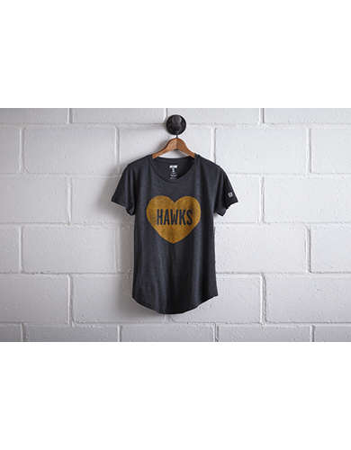 Tailgate Iowa Hawkeyes Heart T-Shirt -