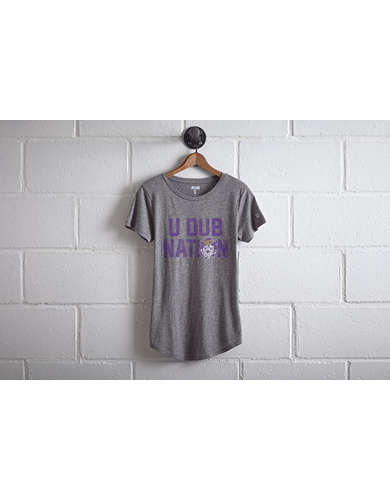 Tailgate Women's Washington Huskies U Dub T-Shirt - Free Returns