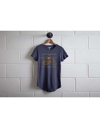 Tailgate Women's Miller Beer T-Shirt - Free Returns