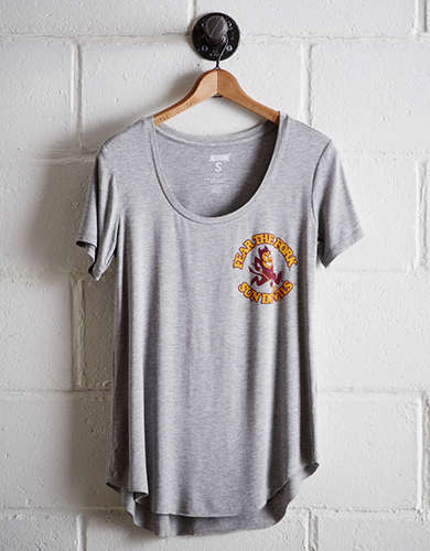 Tailgate Women's Arizona State Scoop Neck Tee - Free returns