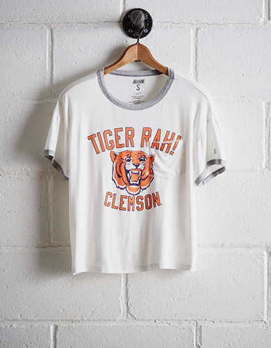Tailgate Women's Clemson Pocket T-Shirt - Buy One Get One 50% Off