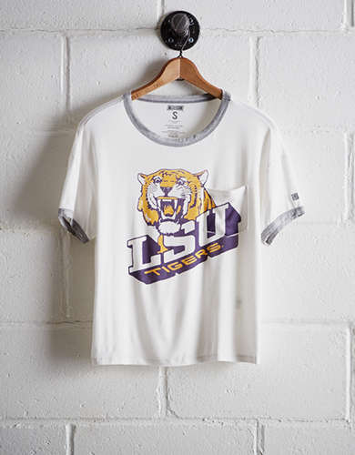 Tailgate Women's LSU Tigers Pocket T-Shirt - Free Returns