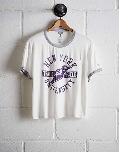 Tailgate Women's NYU Pocket T-Shirt - Free Returns