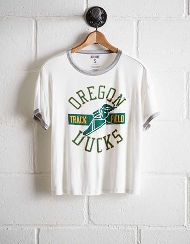 Tailgate Women's Oregon Ducks Pocket T-Shirt - Free Returns