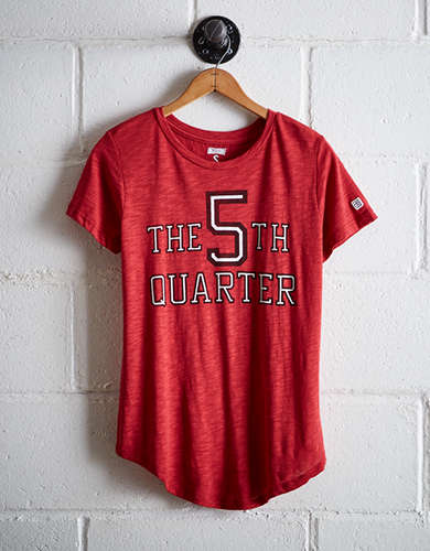 Tailgate Women's Wisconsin 5th Quarter T-Shirt - Free Returns