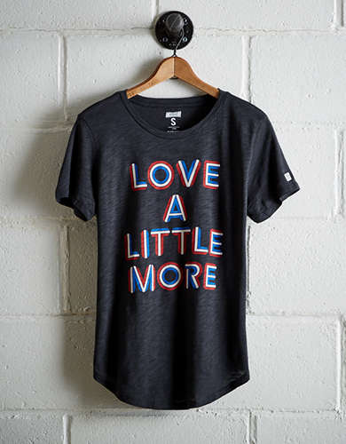 Tailgate Women's Love More T-Shirt - Free Returns