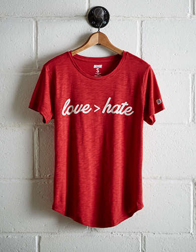 Tailgate Women's Love T-Shirt - Free Returns