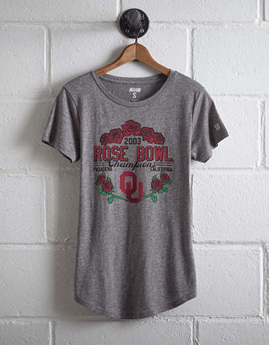 Tailgate Women's Oklahoma Rose Bowl T-Shirt - Free Returns