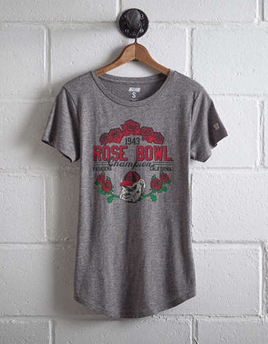 Tailgate Women's Georgia Rose Bowl T-Shirt - Free Returns