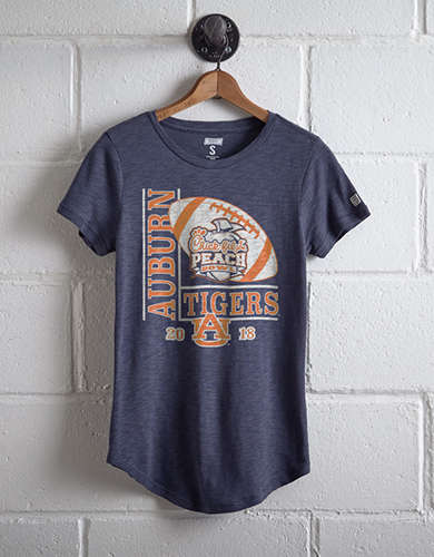 Tailgate Women's Auburn Peach Bowl T-Shirt - Free Returns