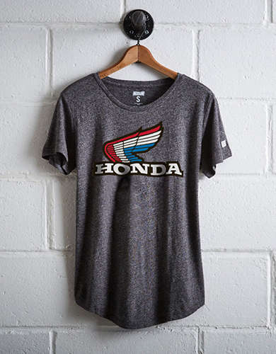 Tailgate Women's Honda Motorcycle T-Shirt - Free Returns
