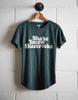 Tailgate Women's Shake Your Shamrocks T Shirt by American Eagle Outfitters