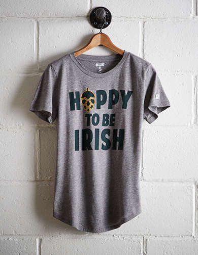 Tailgate Women's Hoppy To Be Irish T-Shirt -