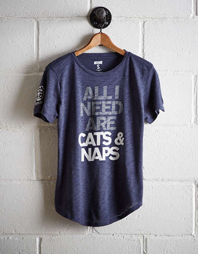Tailgate Women's Cats & Naps T-Shirt - Buy One, Get One 50% Off