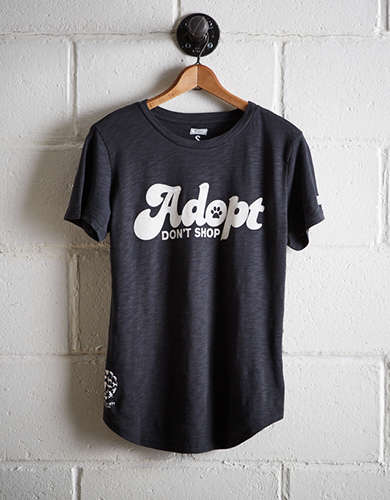 Tailgate Women's Adopt Don't Shop T-Shirt - Free returns