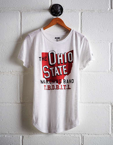 Tailgate Women's Ohio State Marching Band T-Shirt - Free Returns