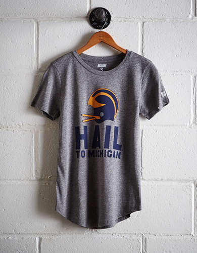 Tailgate Women's Hail To Michigan T-Shirt - Free Shipping + Free Returns