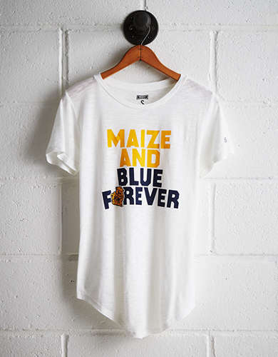 Tailgate Women's Michigan T-Shirt - Free Returns
