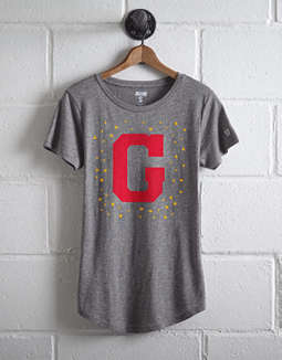 Tailgate Women's Georgia Bulldogs Foil Star T-Shirt
