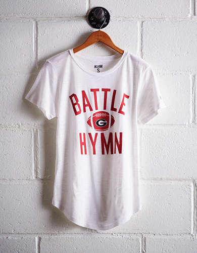 Tailgate Women's Georgia Battle Hymn T-Shirt - Free Returns
