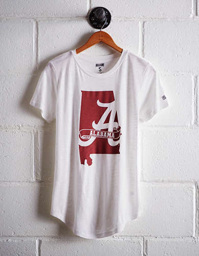 Tailgate Women's Alabama Outline T-Shirt - Free returns