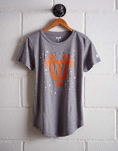 Tailgate Women's Tennessee Foil Star T-Shirt - Free Returns