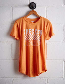 Tailgate Women's Tennessee Checker Neyland T-Shirt