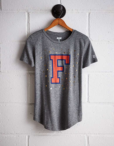 Tailgate Women's Florida Foil Star T-Shirt - Free Returns