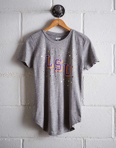 Tailgate Women's LSU Foil Star T-Shirt - Free shipping & returns with purchase of NBA item