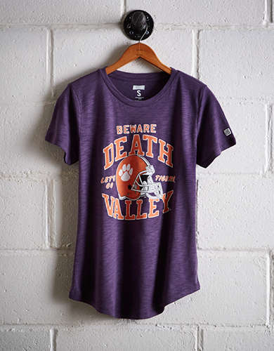Tailgate Women's Clemson Death Valley T-Shirt - Buy One Get One 50% Off