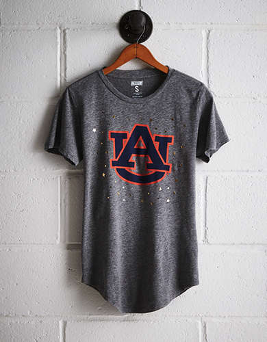 Tailgate Women's Auburn Star Foil T-Shirt - Free Returns