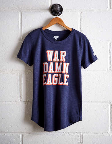 Tailgate Women's Auburn War Damn Eagle T-Shirt -