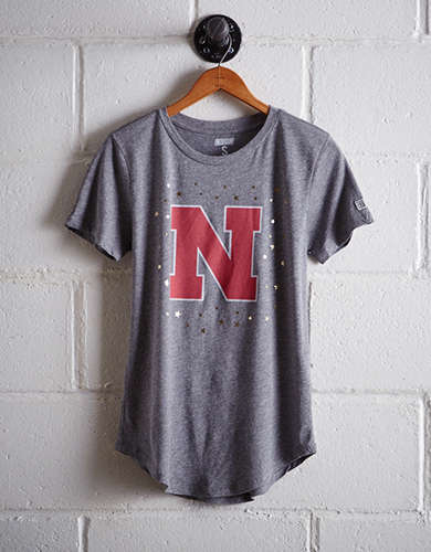 Tailgate Women's Nebraska Foil Star T-Shirt - Free returns