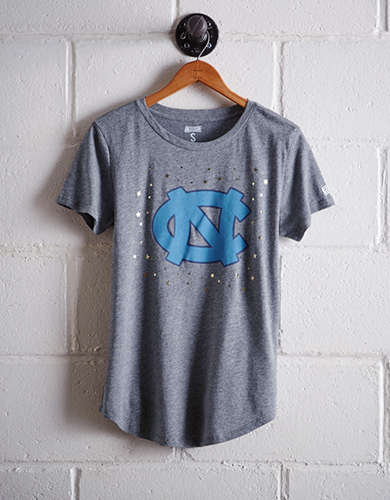 Tailgate Women's UNC Foil Star T-Shirt - Buy One Get One 50% Off