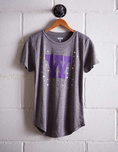 Tailgate Women's Washington Foil Star T-Shirt - Free Returns
