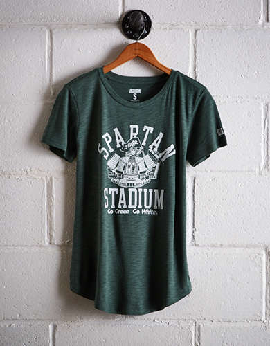 Tailgate Women's Michigan State Spartan Stadium T-Shirt - Buy One Get One 50% Off