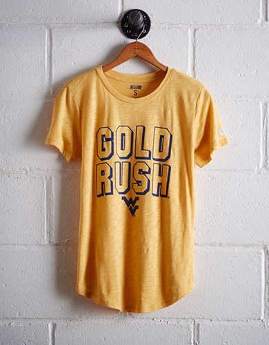 Tailgate Women's West Virginia Gold Rush T-Shirt - Free Returns