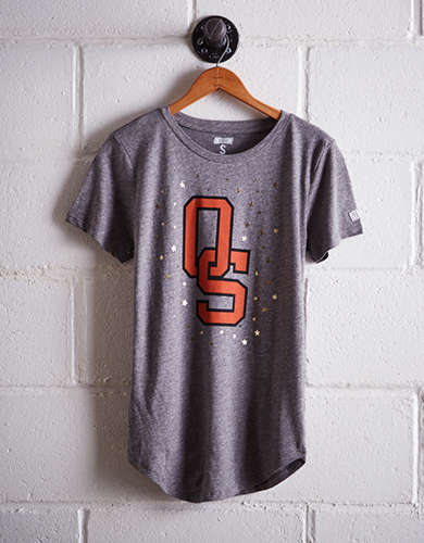 Tailgate Women's Oklahoma State Foil Star T-Shirt - Buy One Get One 50% Off