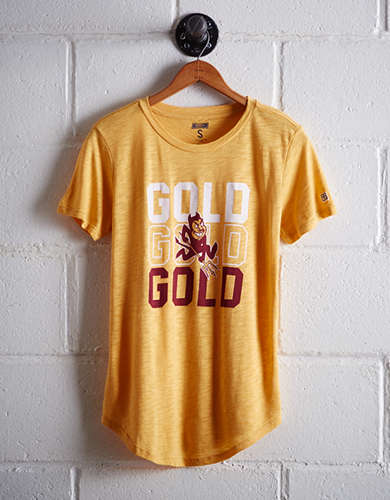 Tailgate Women's ASU Gold T-Shirt - Free shipping & returns with purchase of NBA item