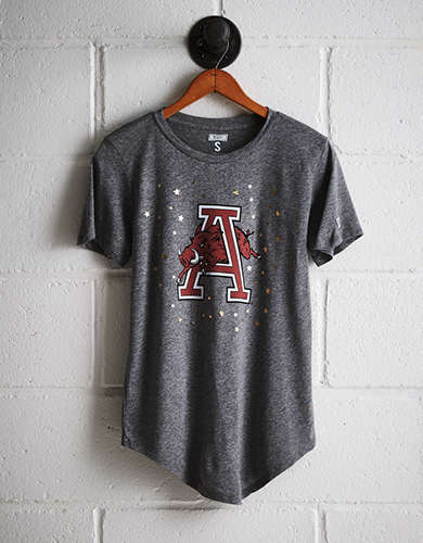 Tailgate Women's Arkansas Foil Star T-Shirt -