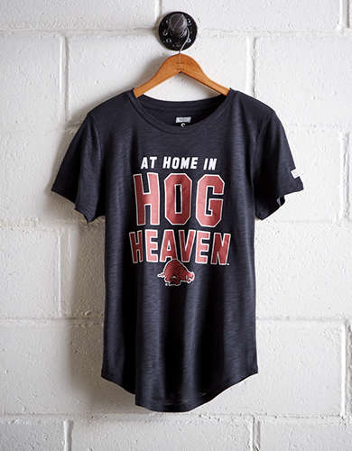 Tailgate Women's Arkansas Hog Heaven T-Shirt - Free returns